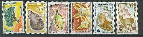 Somalis n°305-310 , **