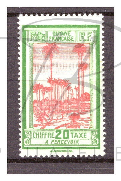 Guyane taxe n°15 , **