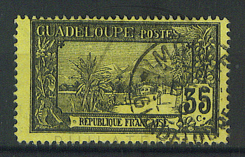 "Guadeloupe n°64 , cachet ""LE MOULE"""