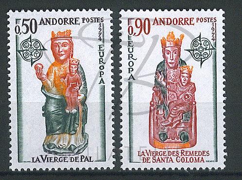 Andorre n°237+238 , **