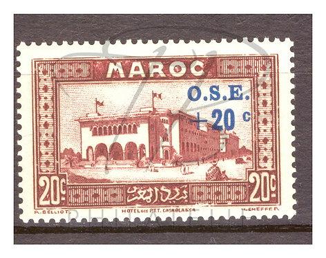 Maroc n°155 , *