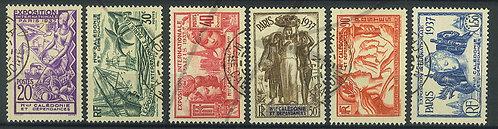 Nouvelle-Calédonie n°166-171