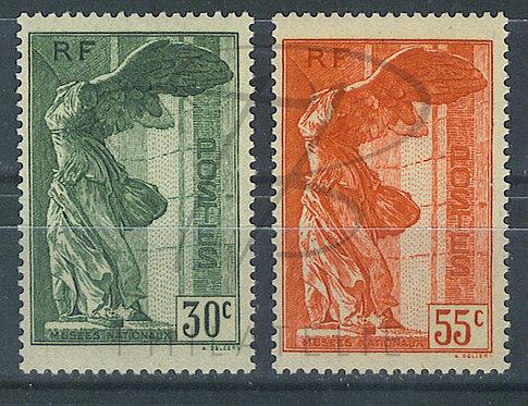 France n°354+355 , **