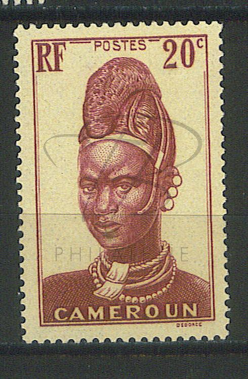 Cameroun n°168 , **
