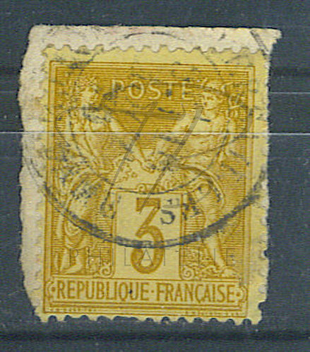 "France n°86 , cachet ""VERSAILLES Qer NOTRE-DAME"""