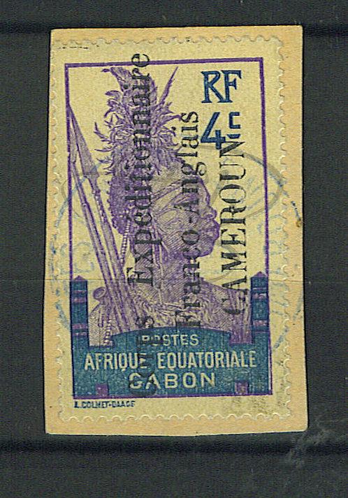 """Cameroun n°40 , """"TRÉSOR ET POSTES AUX ARMÉES"""""""