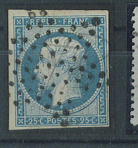 France n°10, étoile de Paris (a)