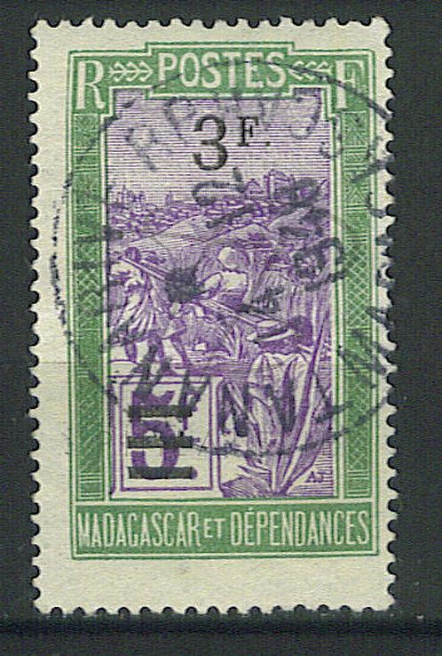 """Madagascar n°153 , cachet """"TANANARIVE RP"""""""