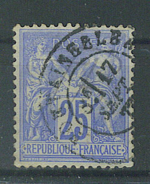 "France n°78, cachet ""FONTAINEBLEAU"""