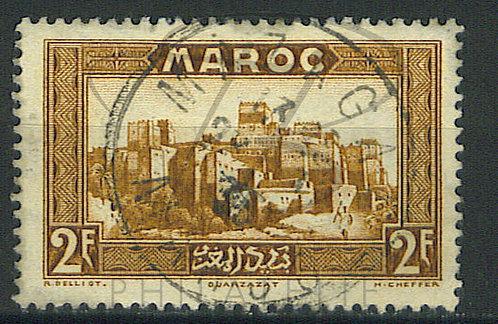 "Maroc n°145 , cachet ""MAZAGAN"""