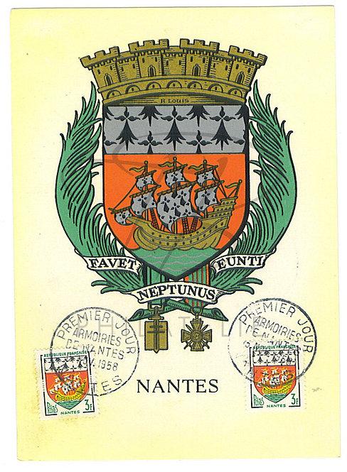 Carte maximum n°1185
