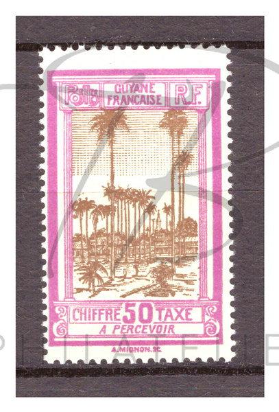 Guyane taxe n°17 , **