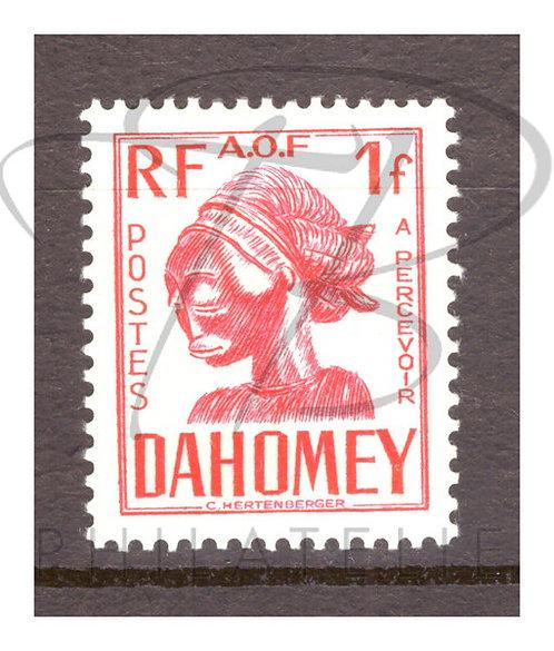 Dahomey taxe n°26 , *