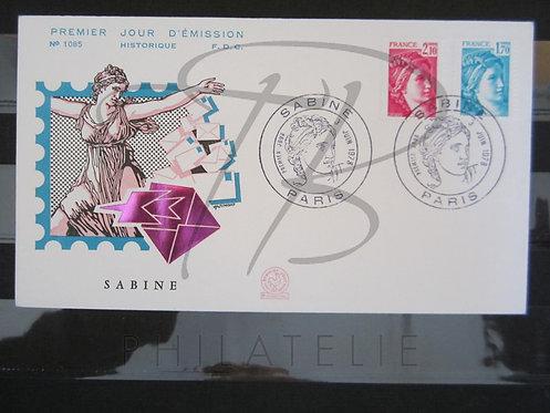 FDC n°1976+1978