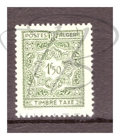 Algérie taxe n°38 , *