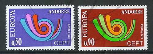 Andorre n°226+227 , **