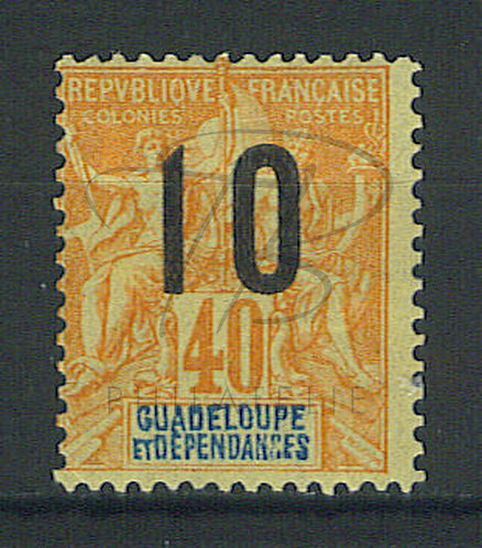 Guadeloupe n°74(A) , *