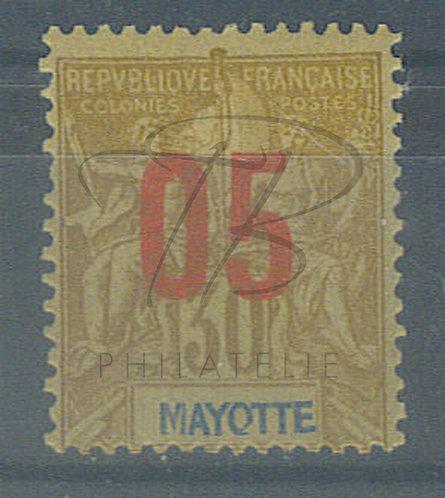 "Mayotte n°26 , ""O"" avec une queue , *"