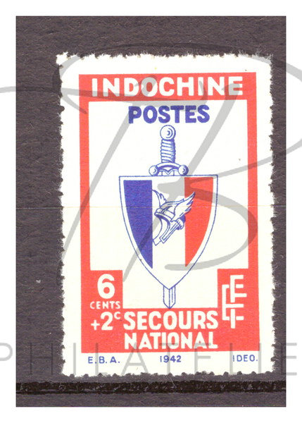 Indochine n°281 , (*)