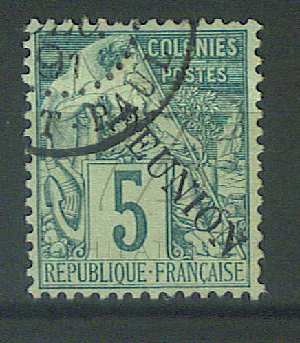 "Réunion n°20 , cachet ""SAINT-PAUL"""