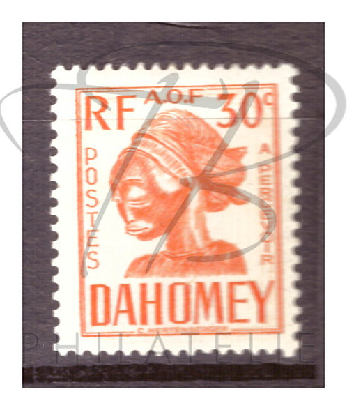 Dahomey taxe n°23 , *