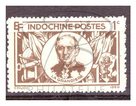 Indochine n°263 , (*)