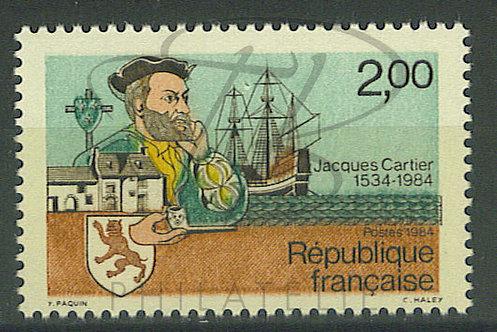 France n°2307 , pétouille entre les 2 mâts , **