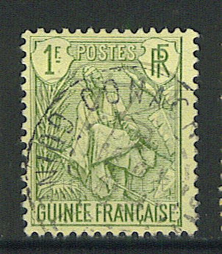 """Guinée n°30 , cachet """"CONACRY"""""""