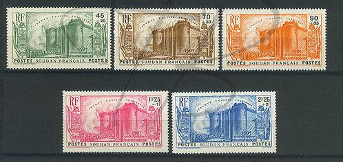 Soudan n°105-109 , **