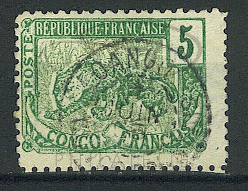 """Congo n°30 , cachet """"LOANGO"""""""