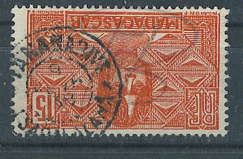 """Madagascar n°166 , cachet """"TANANARIVE"""""""