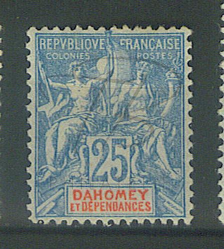 Dahomey n°4 , * (b)