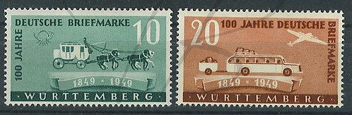 Wurtemberg n°49+50 , *