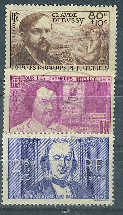 France n°462-464 , *