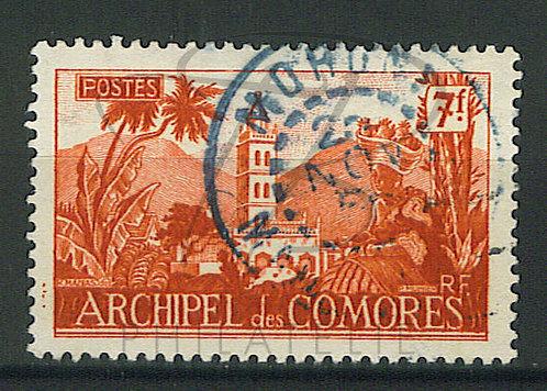 "Comores n°7 , cachet ""MORONI"""