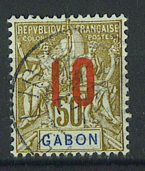 "Gabon n°74 , cachet ""LIBREVILLE"""