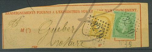 France n°35+59 sur fragment