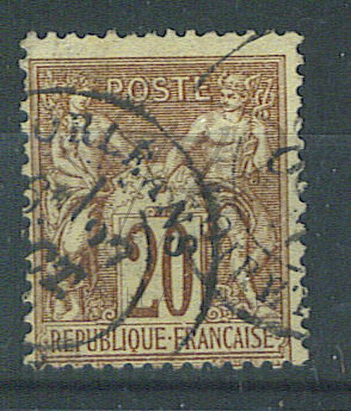 "France n°67, cachet ""ORLEANS"""