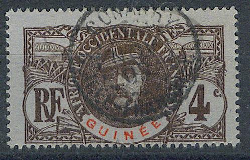 """Guinée n°35 , cachet """"CONAKRY"""""""