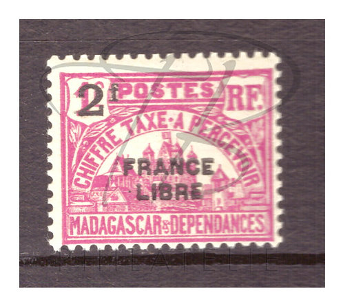 Madagascar taxe n°26 , *