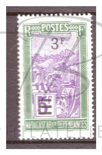 Madagascar n°153 , **