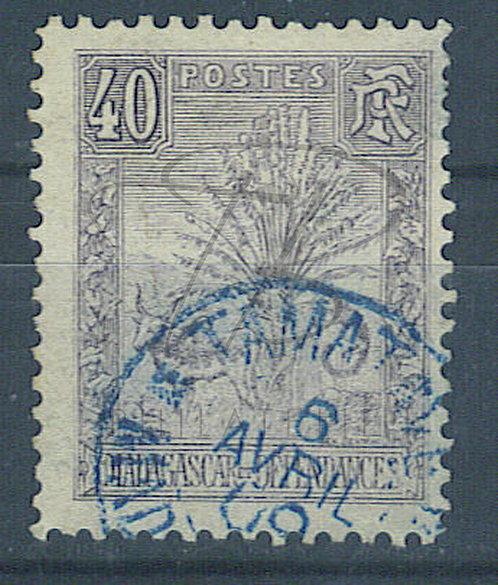 """Madagascar n°72 , cachet """"TAMATAVE"""""""