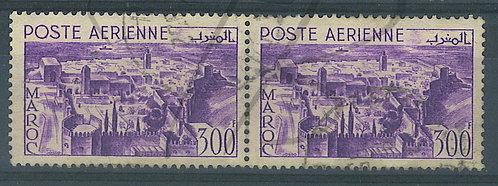 Maroc P.A. n°82 en paire