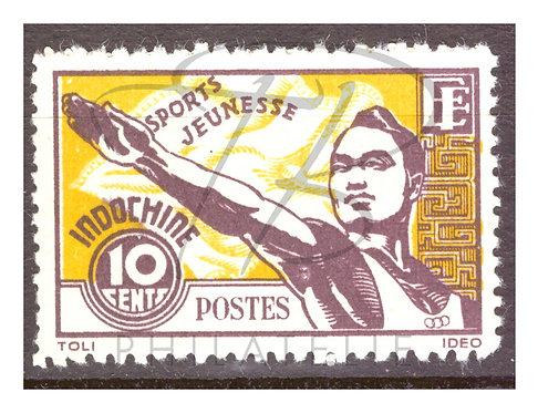 Indochine n°284 , (*)