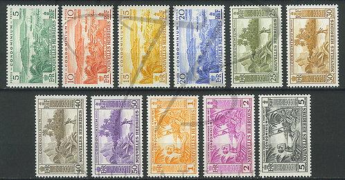 Nouvelles-Hébrides n°175-185 , **