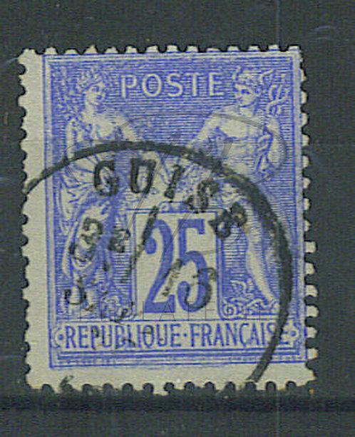"""France n°78, cachet """"GUISE"""""""