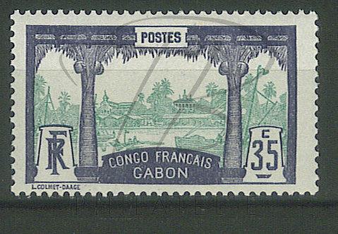 Gabon n°41 , *