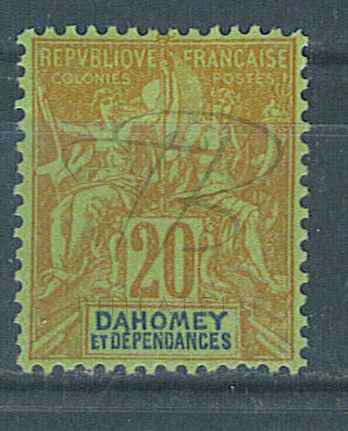 Dahomey n°10 , *