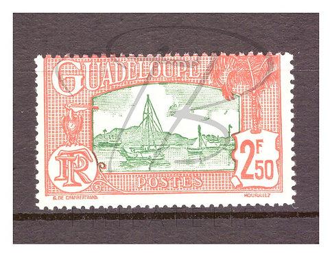 Guadeloupe n°157 , *