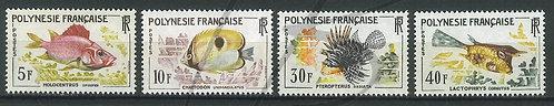 Polynésie française n°18-21 , **